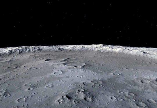 Jadehase 2 - Blick auf die Mondrückseite