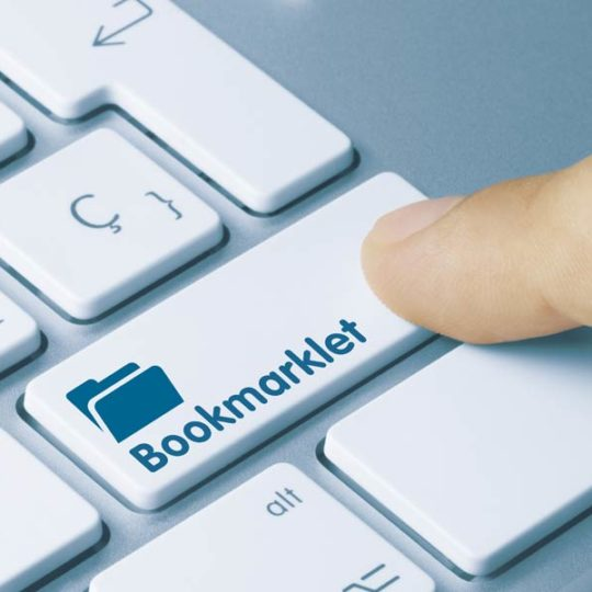Bookmarklets effektiv nutzen