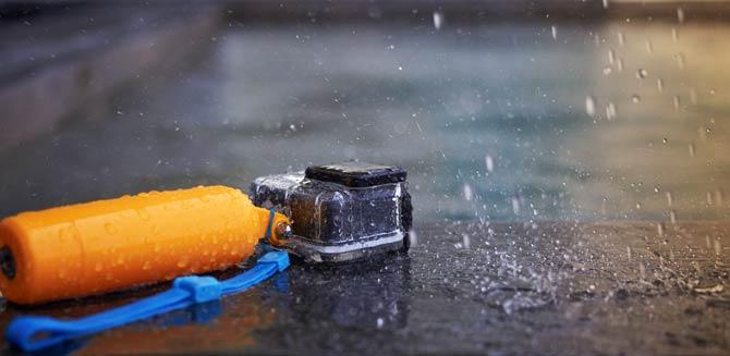 Actioncam sollte wasserdicht sein