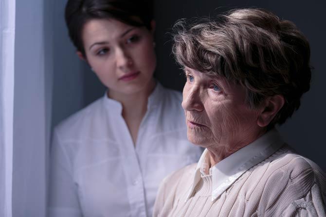 Alzheimer veränderter Charakter