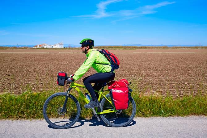 Anfänger Touren für Radfahrer