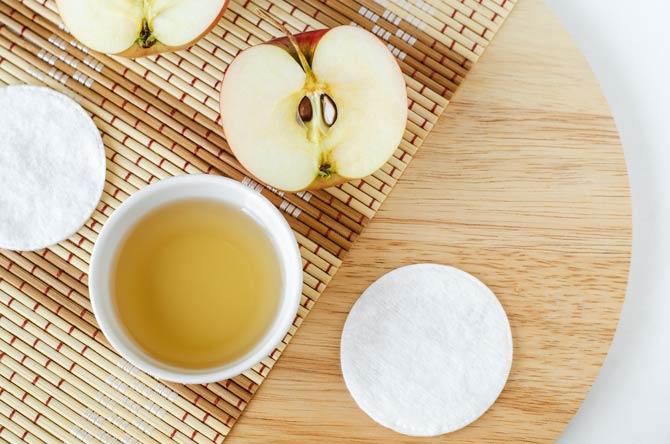 Apfelessig gegen unreine Haut