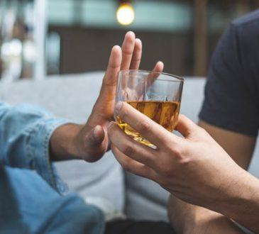 Auf Alkohol verzichten