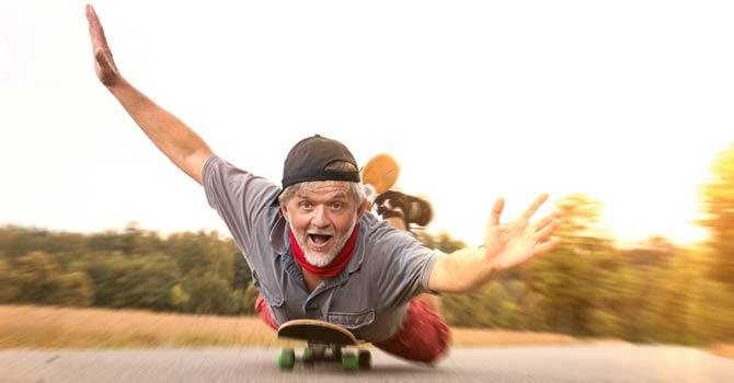 Ausschüttung bestimmter Glückshormone bei der sportlichen Betätigung
