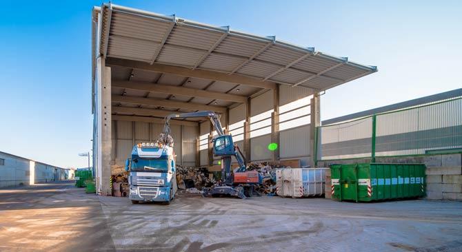 Bauschutt Recyclinghof