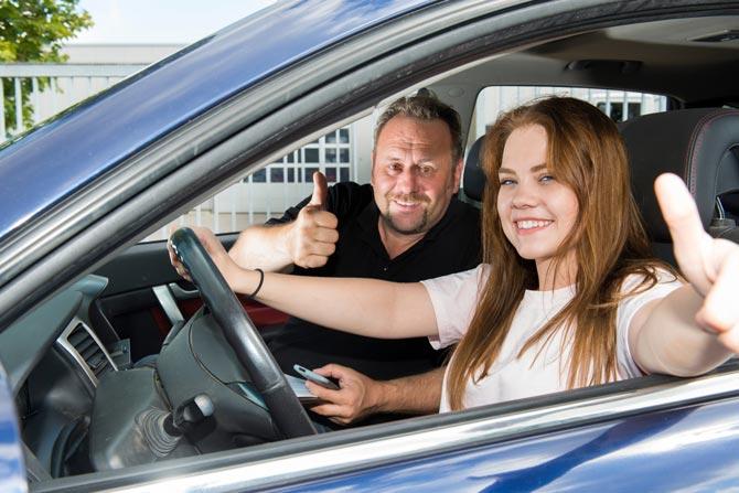 Begleitetes Fahren - Führerschein mit 17