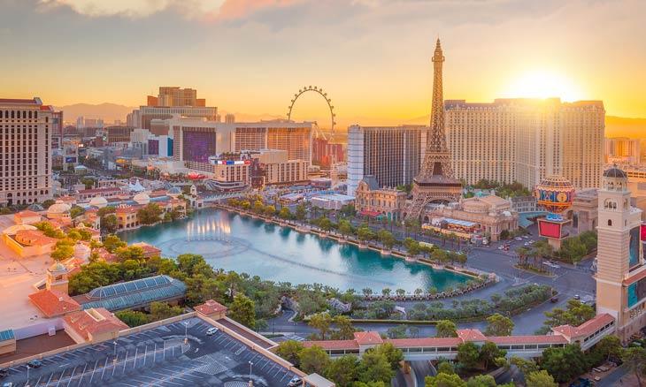 Beliebtes Reiseziel Las Vegas