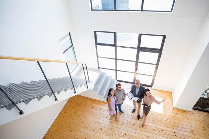 Besichtigungstermin Immobilienmakler