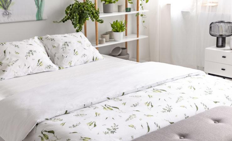 Bettwaren und Bettbezüge: Welche Materialien sind am besten geeignet?