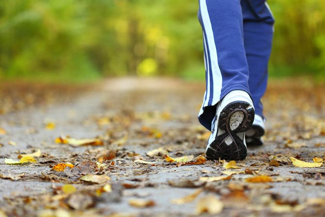 Bewegung gut für Darmgesundheit