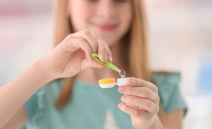 Bifokale Kontaktlinsen für Kinder