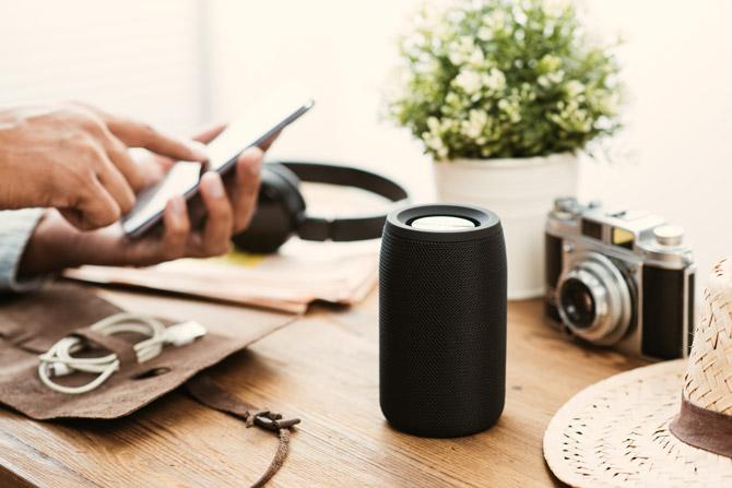 Bluetooth-Lautsprecher kabellose Verbindung