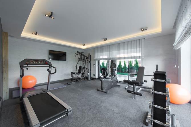 Bodenbelag im Home Gym