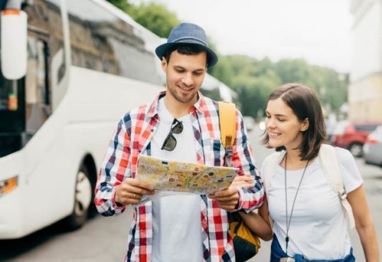 Bus Urlaub in Deutschland