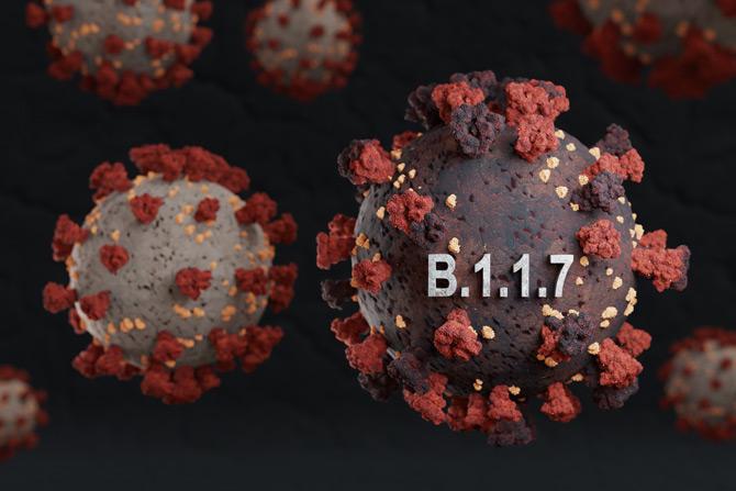 Coronavirus B.1.1.7-Variante