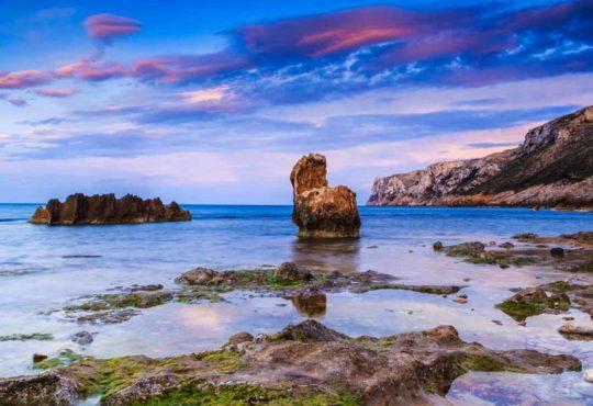 Küste von Denia