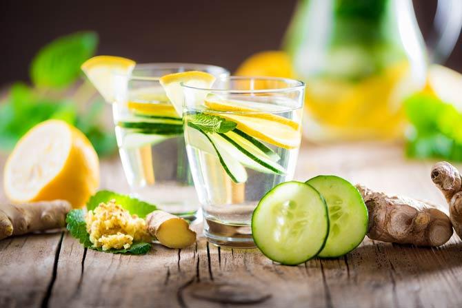 Diät - Sie müssen nicht immer nur Wasser trinken