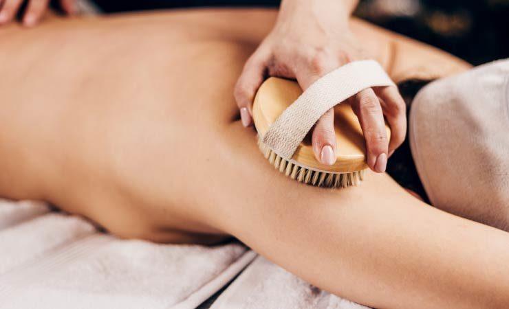 Dry Brushing - Bürsten ist eine Wohltat für die Haut