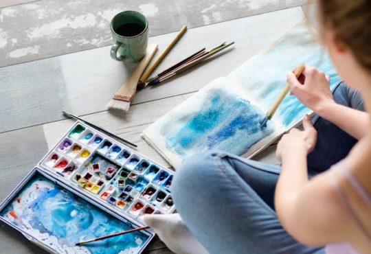 Durch Malen zur inneren Ruhe finden