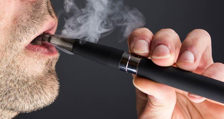 E-Zigarette keine Giftstoffe