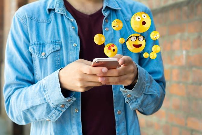 Emojis mit klar verständlicher Botschaft