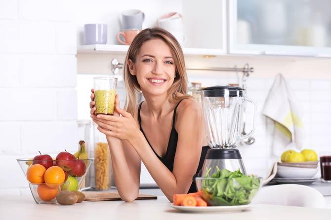 Empfohlen sind zwei Portionen Gemüse und drei Portionen Obst am Tag