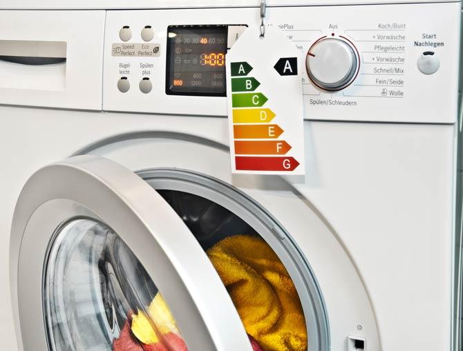 Energieeffizienzklassen Waschmaschine