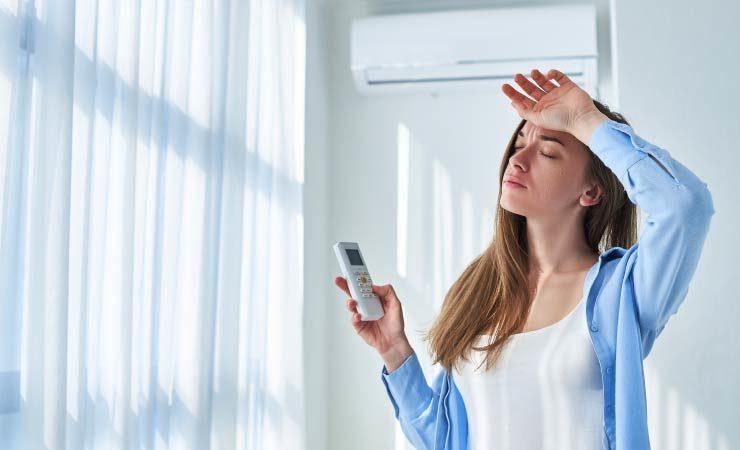 Erkältungen bei der Klimaanlage vermeiden