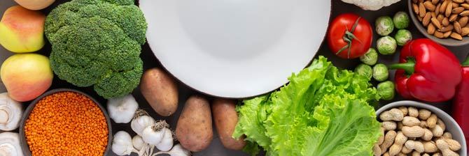 Ernährung ist die halbe Miete