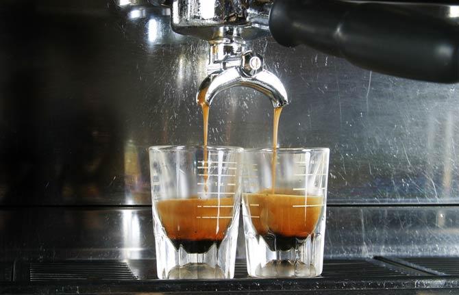 Espresso Shots Kaffeevollautomat
