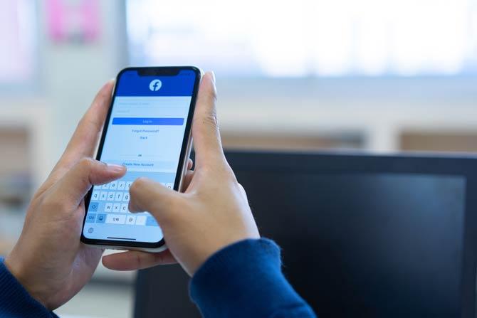 Facebook verringerte die Reichweite