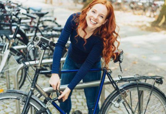 Fahrrad sicher abschließen