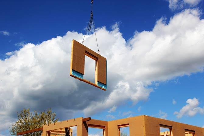 Fertighaus Vorteil - Bauzeit deutlich kürzer