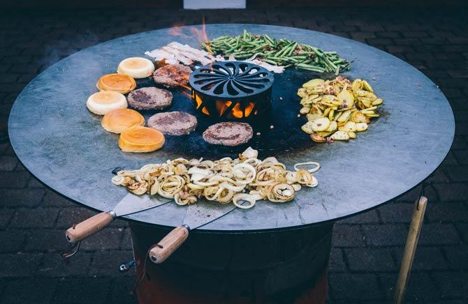Feuerplatte Grill Trends
