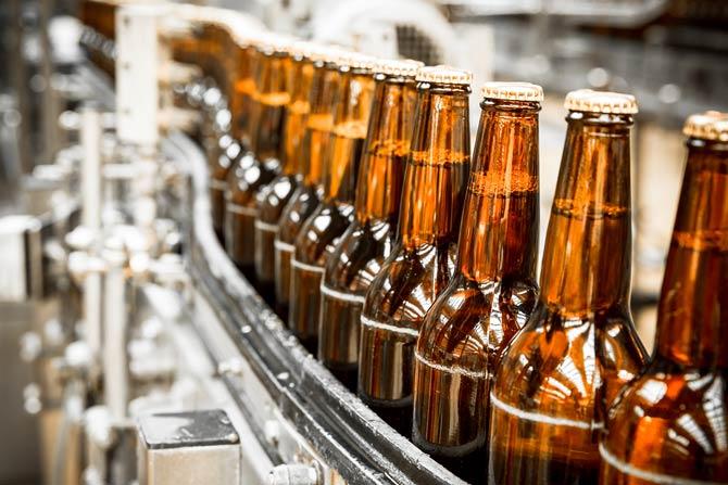 Flaschenbier-Brauerei