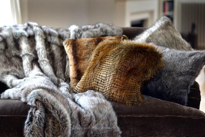 Flauschige Kuschelparadiese mit Faux Fur