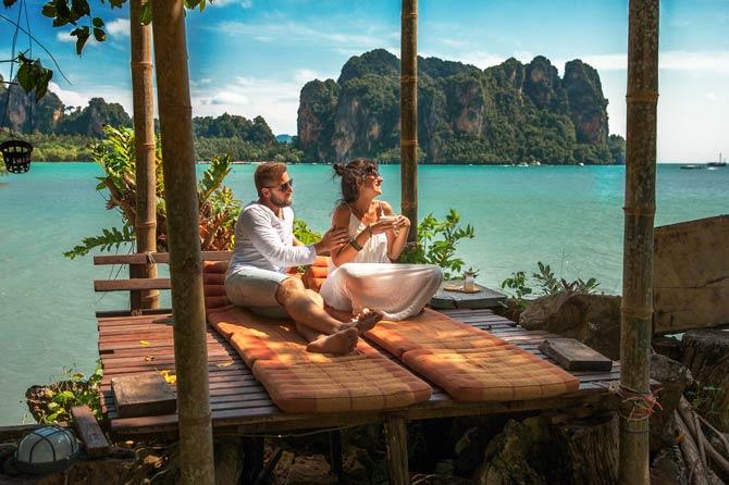 Flitterwochen als romantisches Highlight