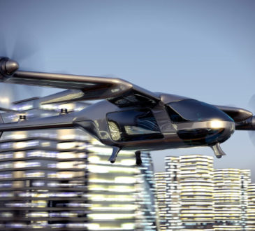 Flugtaxi Fluggerät der Zukunft
