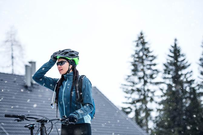 Funktionskleidung - Radfahren im Winter