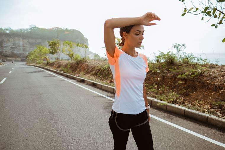 Funktionskleidung - Sport bei Hitze