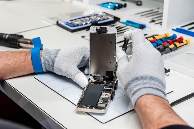 Garantiefall - Iphone Reparatur