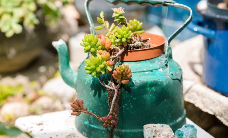 Gartendeko selbst gemacht - Tipps für Sparfüchse