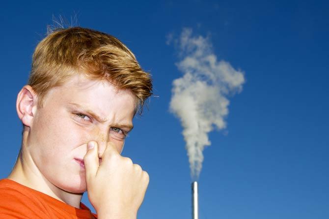 Gefahr durch Luftverschmutzung