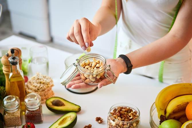 Nüsse estandteil einer gesunden Ernährung