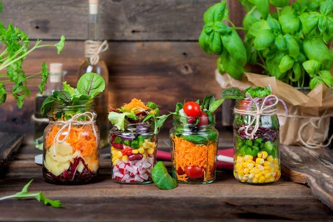 Gesunde Nahrungsmittel beim Intervallfasten