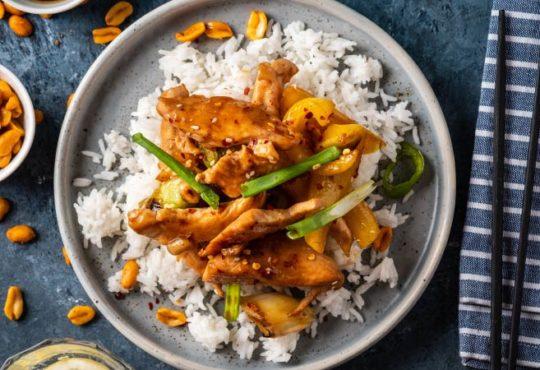 Gesunde und schnelle Gerichte leicht gemacht