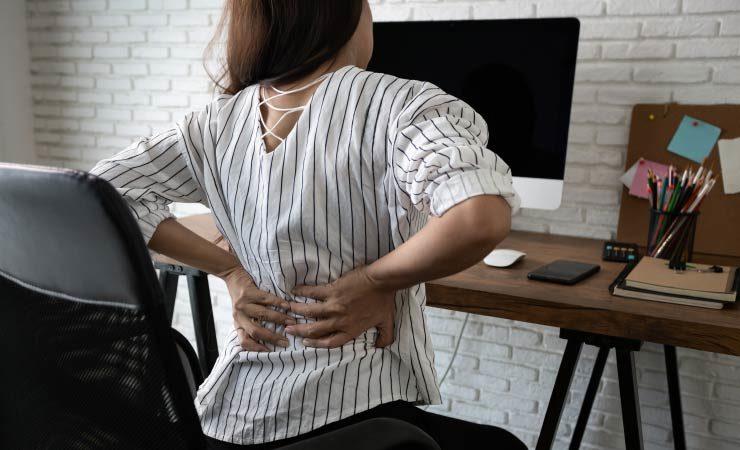 Gesunder Rücken im Homeoffice