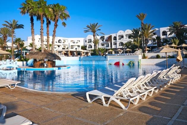 Glueckshotel in Tunesien