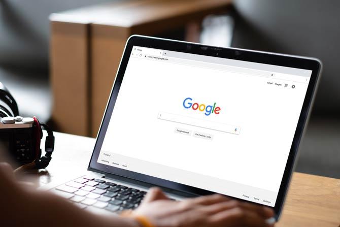 Google Suchanfrage