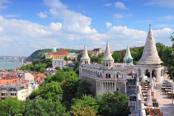 Großteil von Budapest UNESCO Weltkulturerbe
